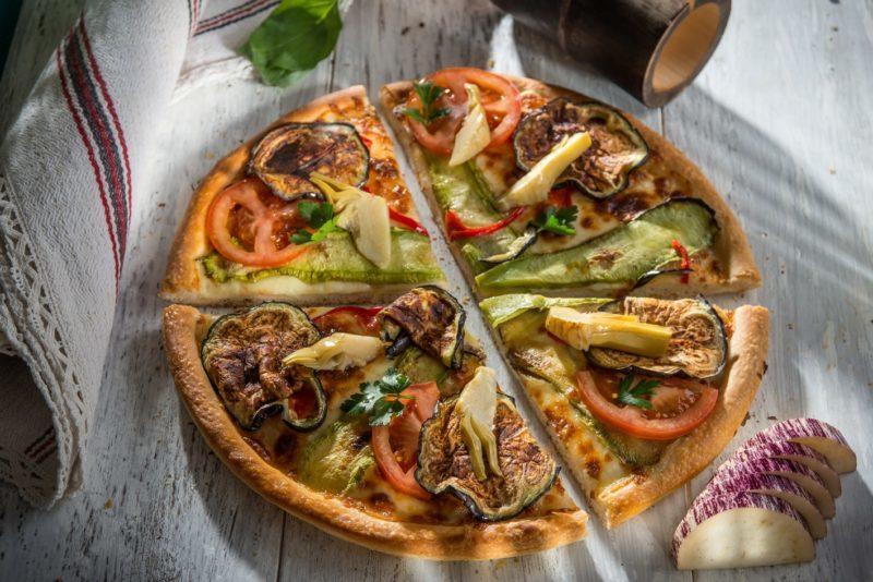 Pizza Vegeterian Lovers