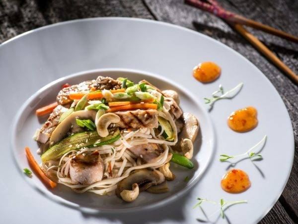 Pork Thai Noodles