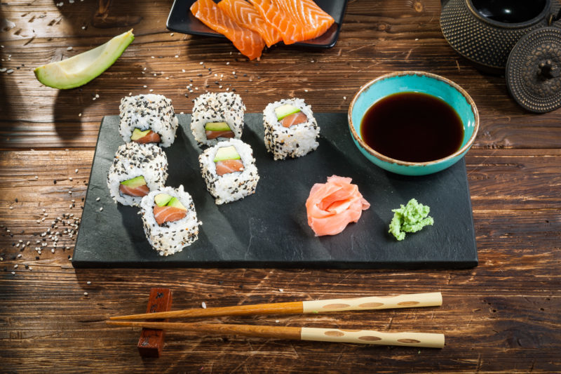 Salmon Avocado Roll