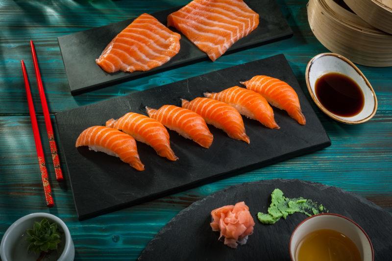 Salmon Nigiri 6 buc