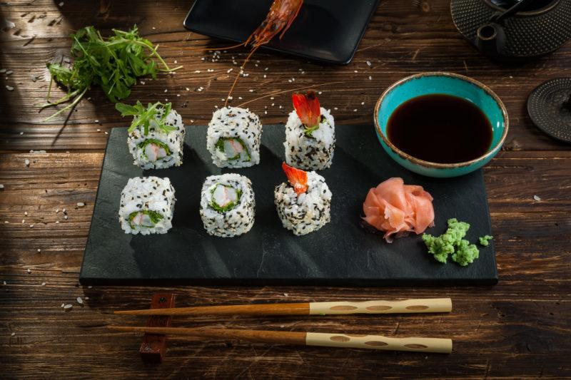 Tiger Shrimp Roll