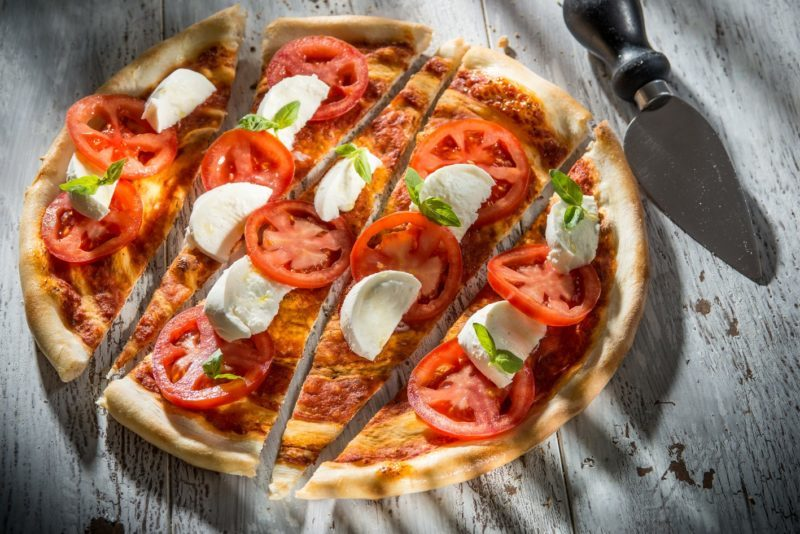 Pizza Buffalla Caprese