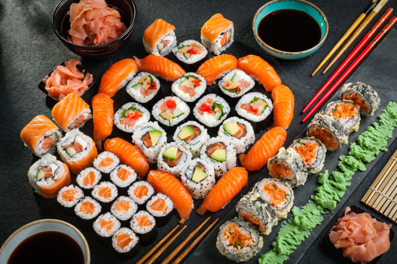 Salmon Love Platter