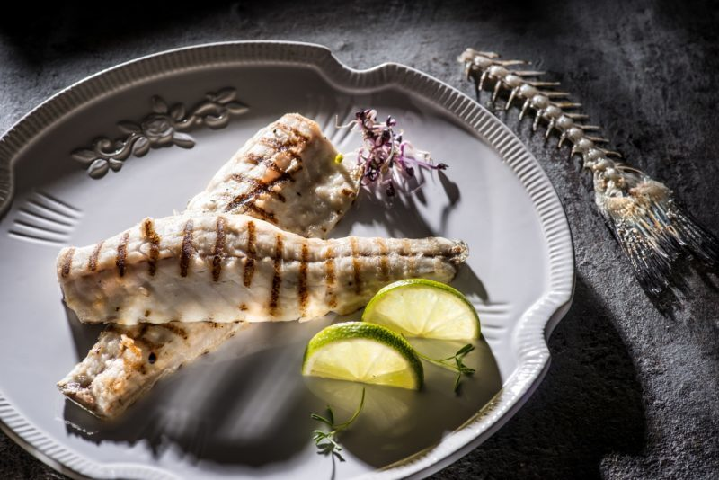 Grilled bream file