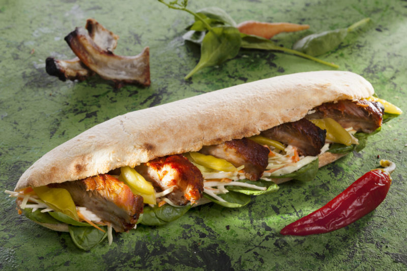 Sandwich BBQ Pork