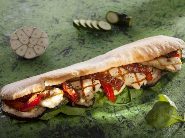 Sandwich cu Halloumi
