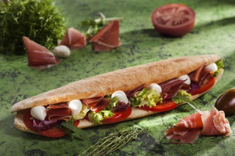 Sandwich Italian Flavors