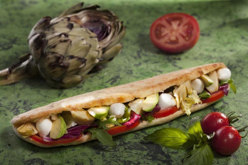 Low Calories Sandwich